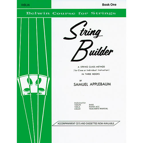 Alfred String Builder - Book 1 thumbnail