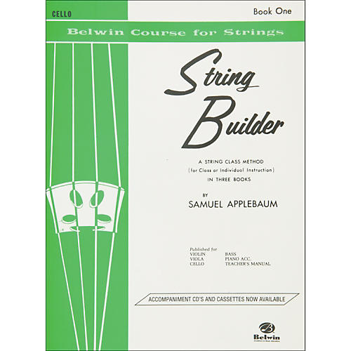 Alfred String Builder Cello Book I thumbnail