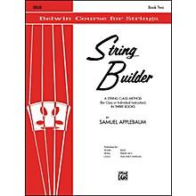 Alfred String Builder Cello Book II