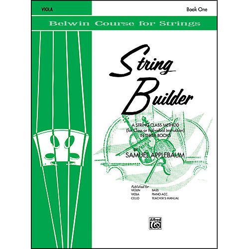 Alfred String Builder Viola Book I thumbnail