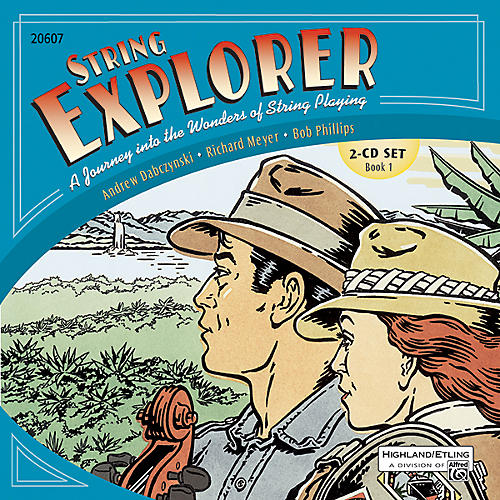 Alfred String Explorer Book 1 Acc. Recordings 2-CD Set-thumbnail