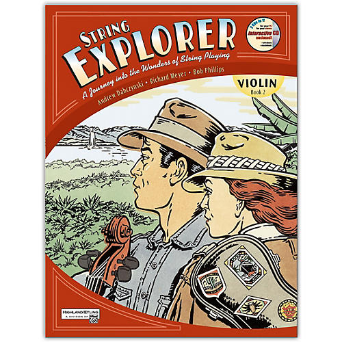 Alfred String Explorer Book 2 Violin thumbnail