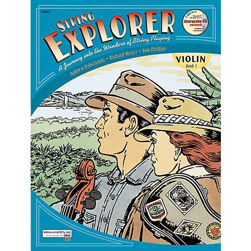 Alfred String Explorer for Violin, Book 1 thumbnail
