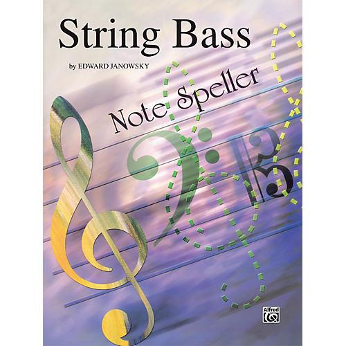 Alfred String Note Speller String Bass thumbnail