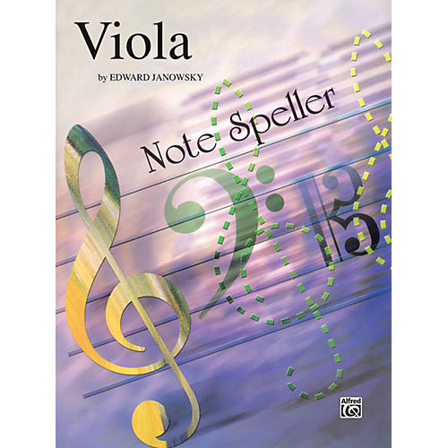 Alfred String Note Speller Viola thumbnail