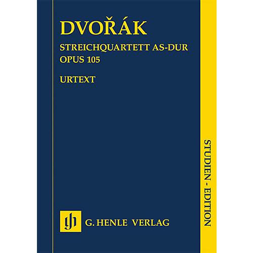 G. Henle Verlag String Quartet A-flat Major Op. 105 Henle Study Scores Series Softcover Composed by Antonin Dvorak thumbnail