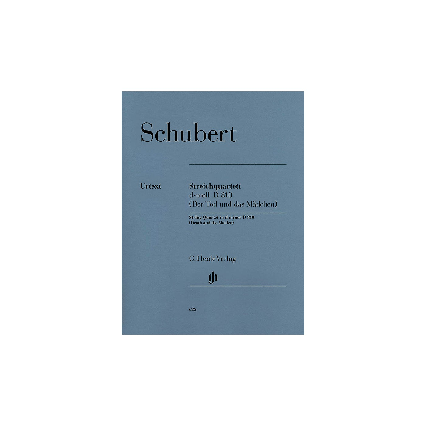 G. Henle Verlag String Quartet D minor D 810 The Death and the Maiden Henle Music Folios Softcover by Franz Schubert thumbnail