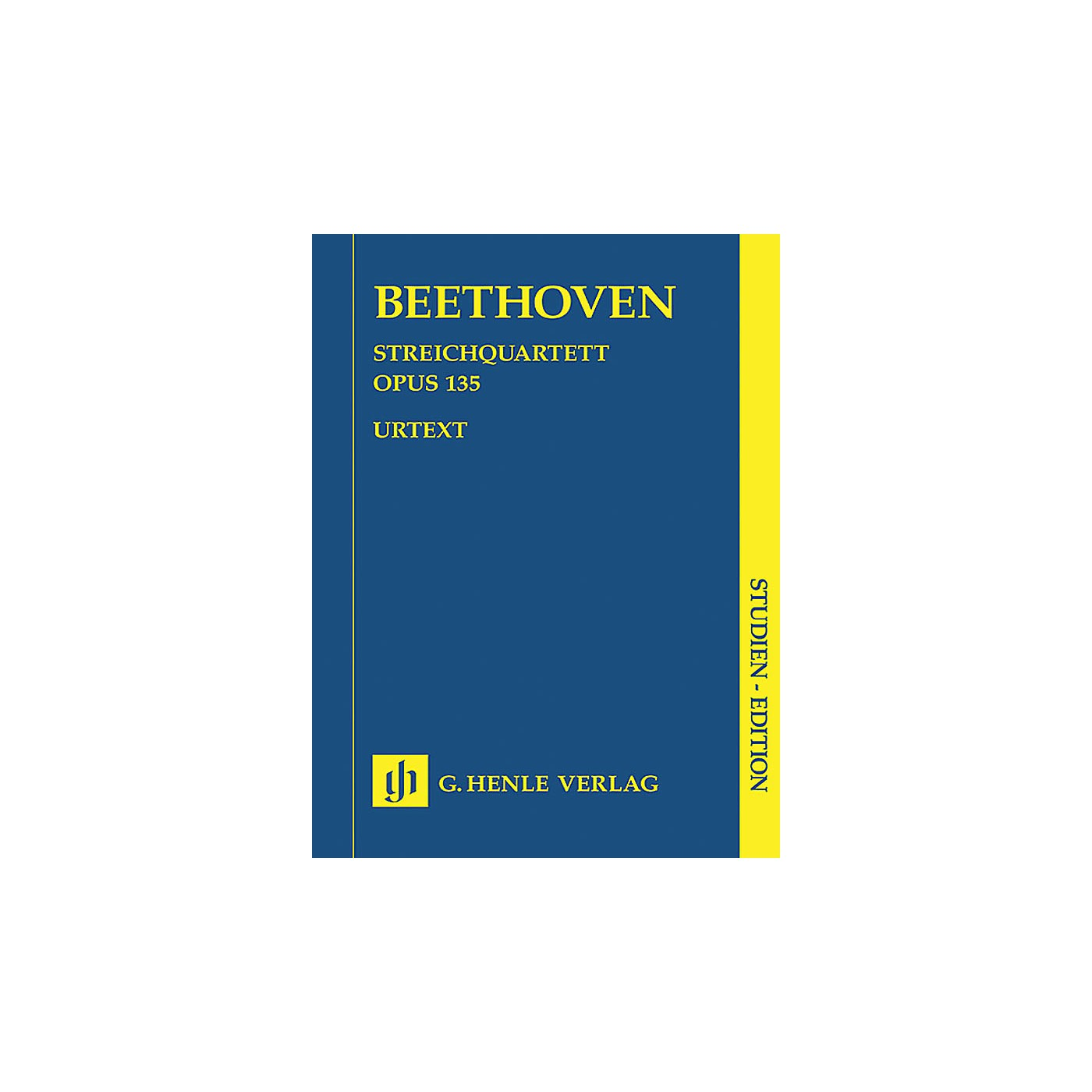 G. Henle Verlag String Quartet F Major Op. 135 (Study Score) Henle Study Scores Series Softcover by Ludwig van Beethoven thumbnail