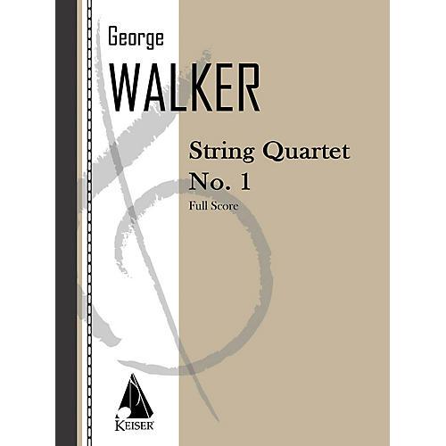 Lauren Keiser Music Publishing String Quartet No. 1 LKM Music Series Composed by George Walker thumbnail