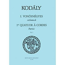 Editio Musica Budapest String Quartet No. 1, Op. 2 (Parts) EMB Series Composed by Zoltán Kodály