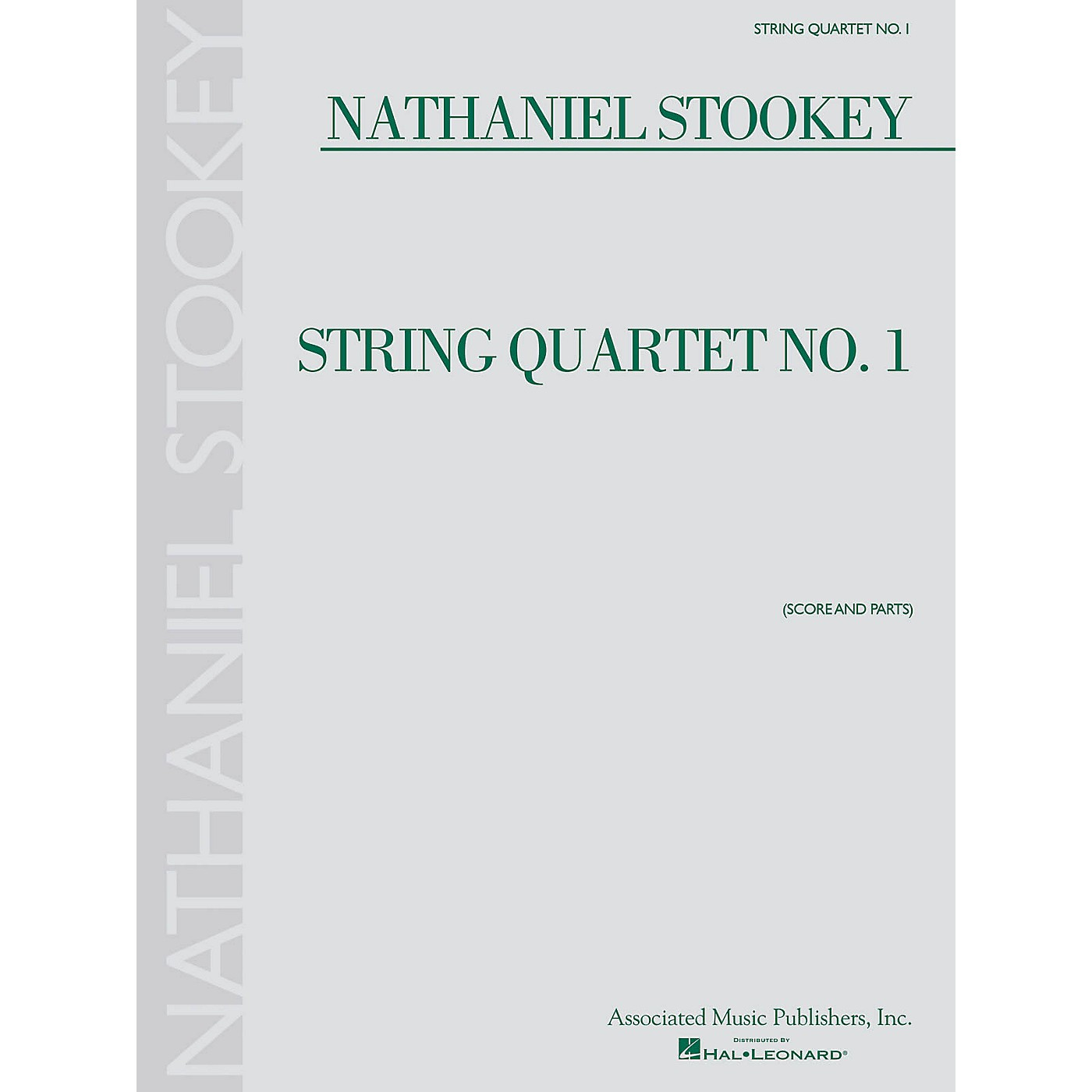 Associated String Quartet No. 1 (Score and Parts) String Ensemble Series Softcover Composed by Nathaniel Stookey thumbnail