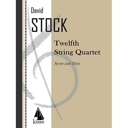 Lauren Keiser Music Publishing String Quartet No. 12 LKM Music Series Composed by David Stock thumbnail