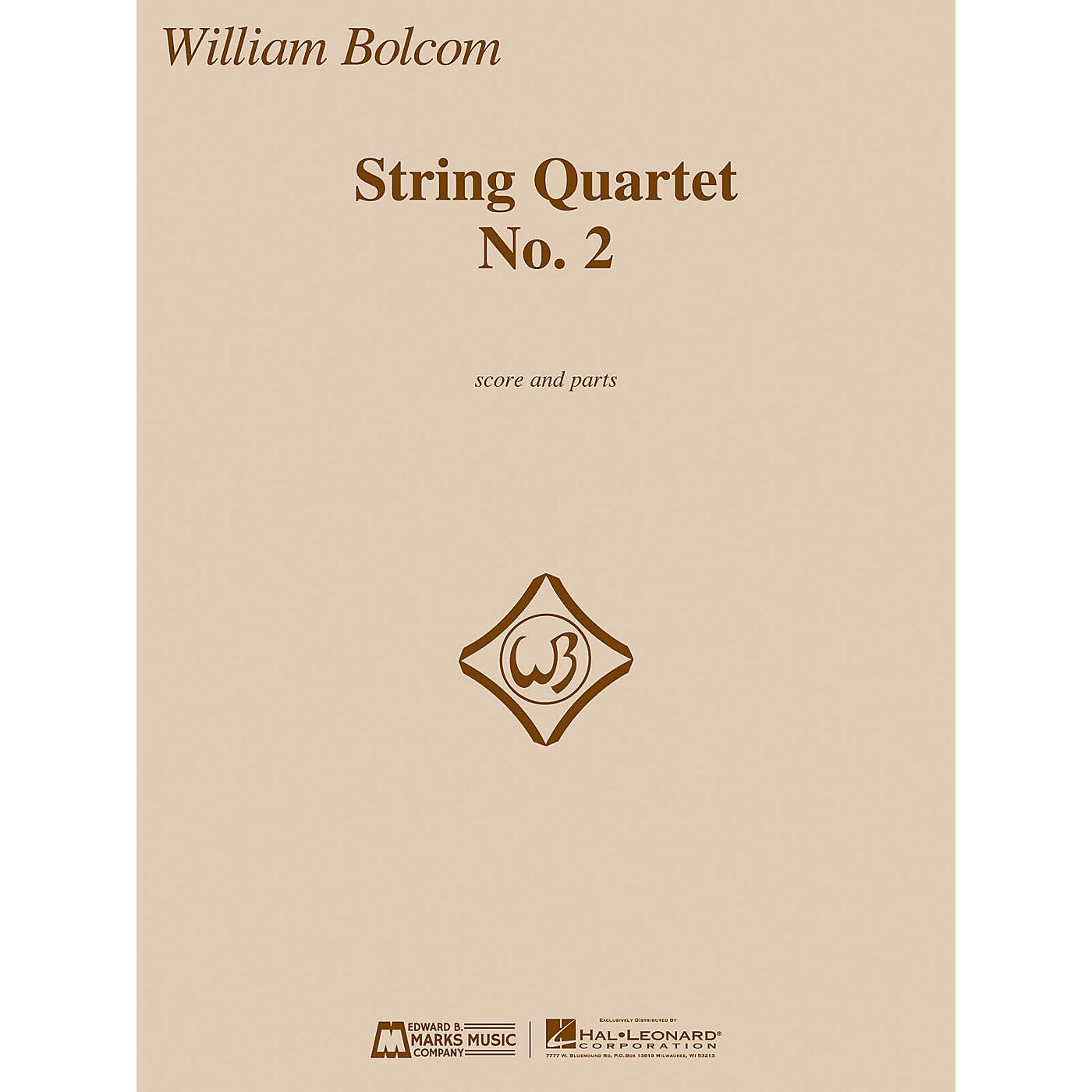 Edward B. Marks Music Company String Quartet No. 2 E.B. Marks Series Composed by William Bolcom thumbnail