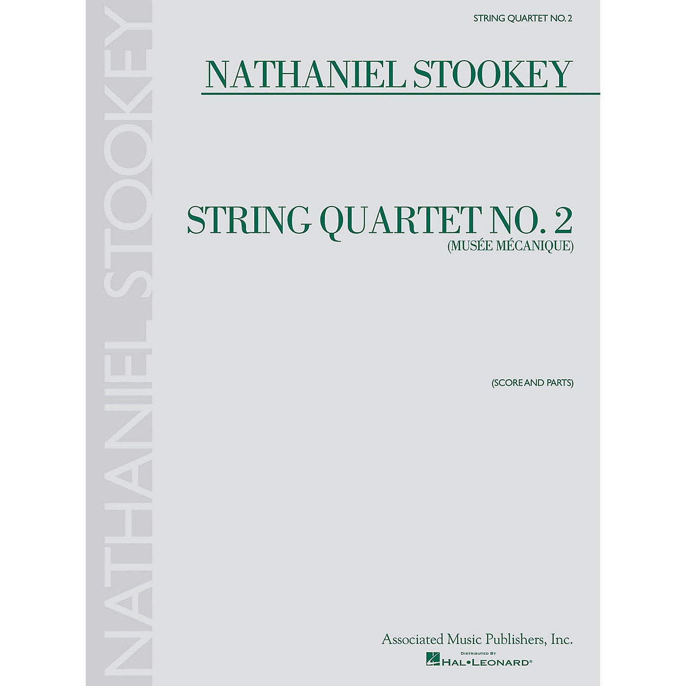Associated String Quartet No. 2 (Musée Mécanique) String Ensemble Series Softcover Composed by Nathaniel Stookey thumbnail