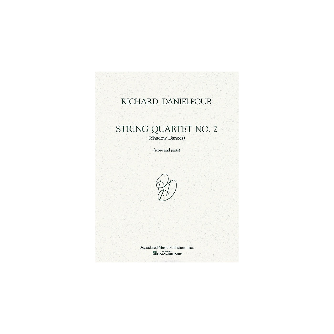 Associated String Quartet No. 2 (Shadow Dances) (Score and Parts) String Ensemble Series by Richard Danielpour thumbnail
