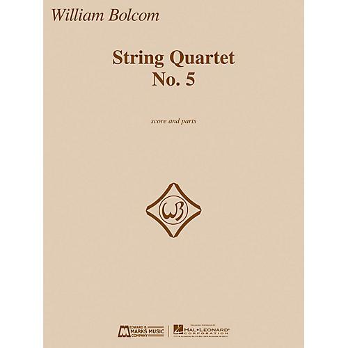 Edward B. Marks Music Company String Quartet No. 5 E.B. Marks Series Composed by William Bolcom thumbnail