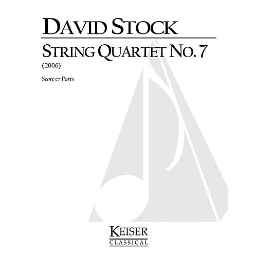 Lauren Keiser Music Publishing String Quartet No. 7 LKM Music Series Composed by David Stock thumbnail