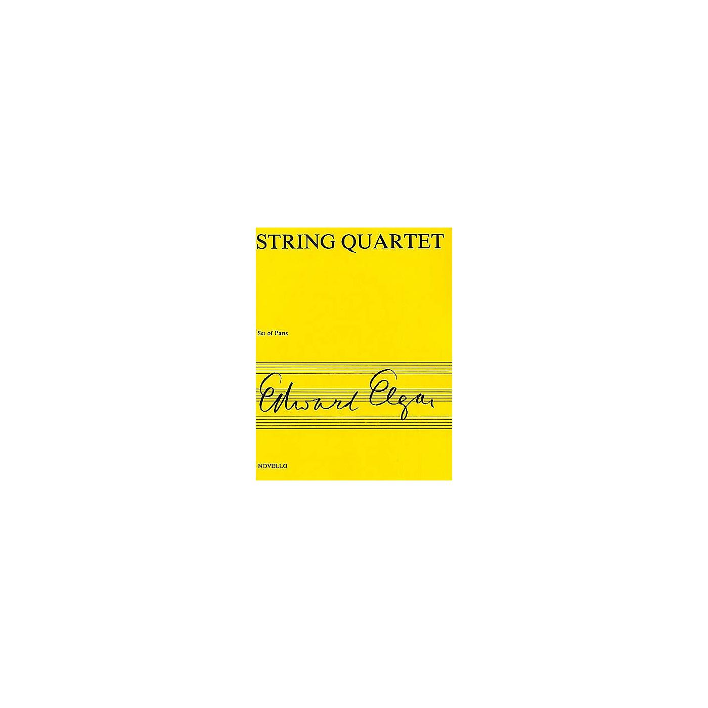 Novello String Quartet Op. 83 Music Sales America Series Composed by Edward Elgar thumbnail