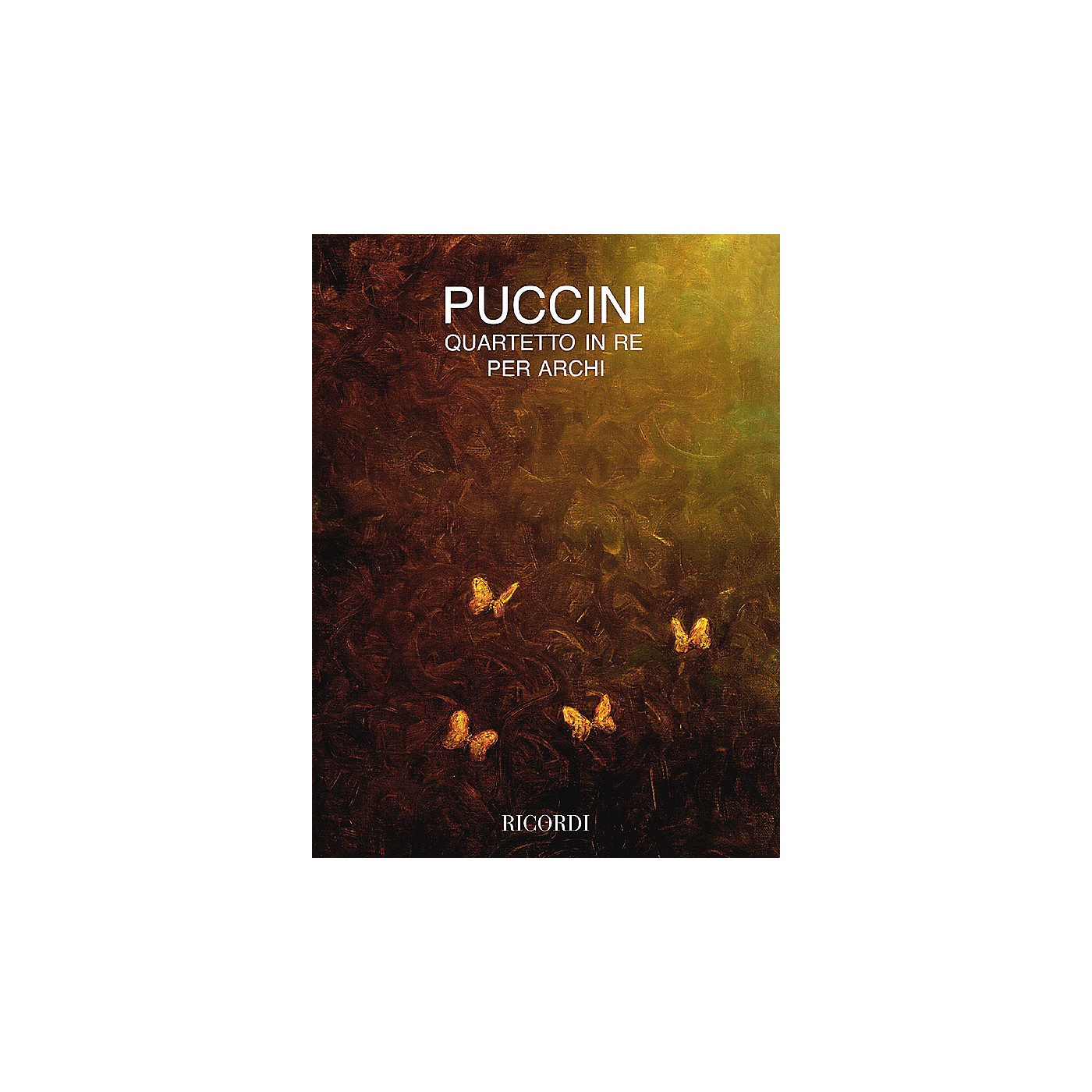 Ricordi String Quartet in D (Parts) String Series Composed by Giacomo Puccini thumbnail