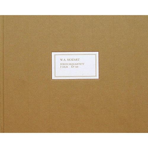 G. Henle Verlag String Quartet in F Major K168 (Facsimile) Henle Facsimile Series Hardcover thumbnail
