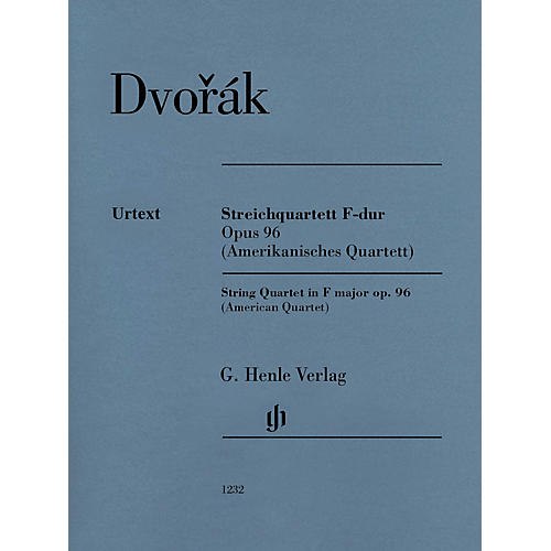 G. Henle Verlag String Quartet in F Major Op. 96 (American Quartet) Henle Music Folios Series Softcover by Antonín Dvorák thumbnail
