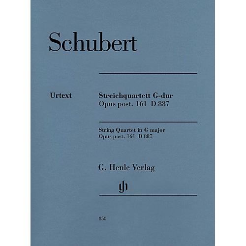 G. Henle Verlag String Quartet in G Major, Op. post. 161 D 887 Henle Music Folios by Franz Schubert Edited by Egon Voss thumbnail