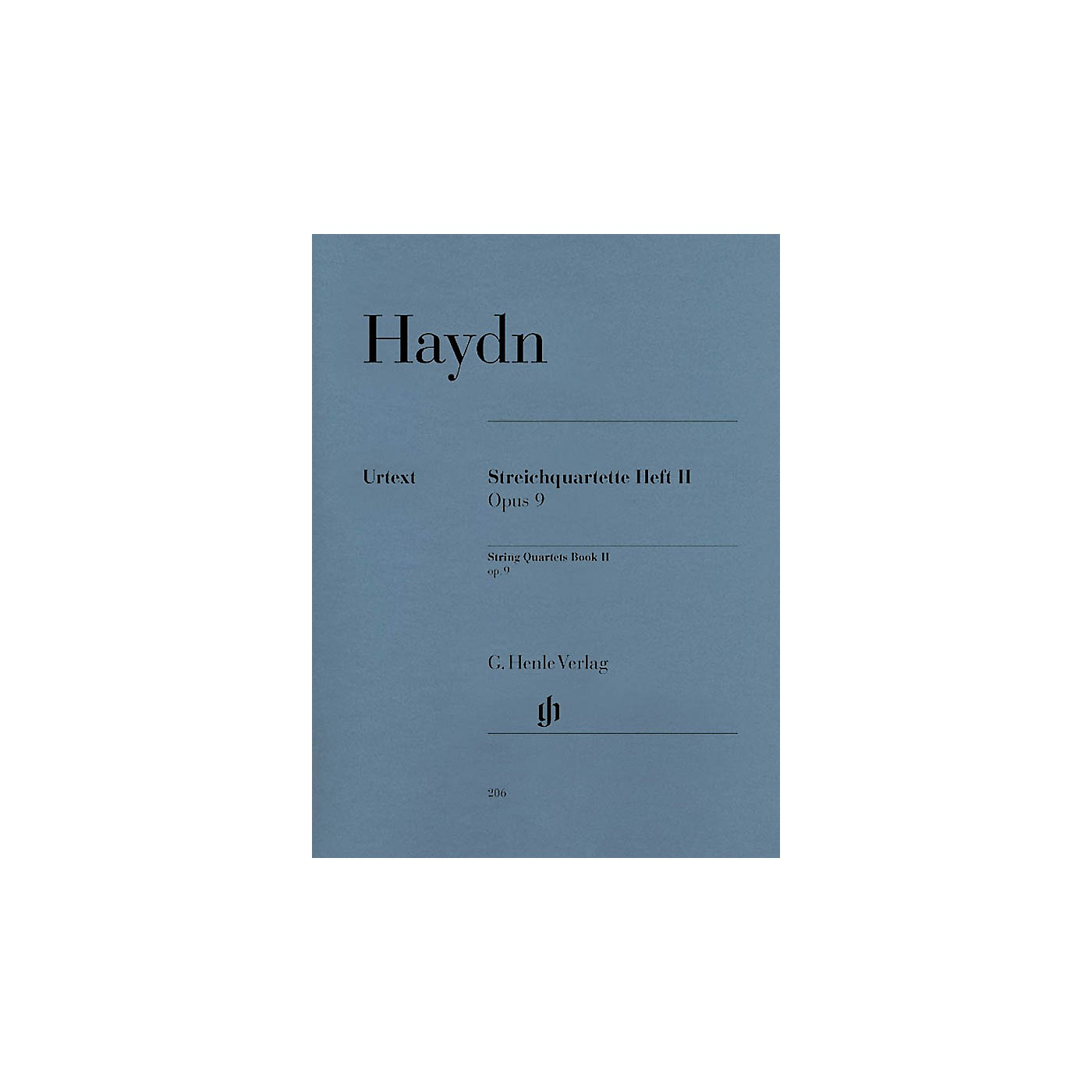 G. Henle Verlag String Quartets - Volume II Op. 9 Henle Music Folios Series Softcover Composed by Joseph Haydn thumbnail