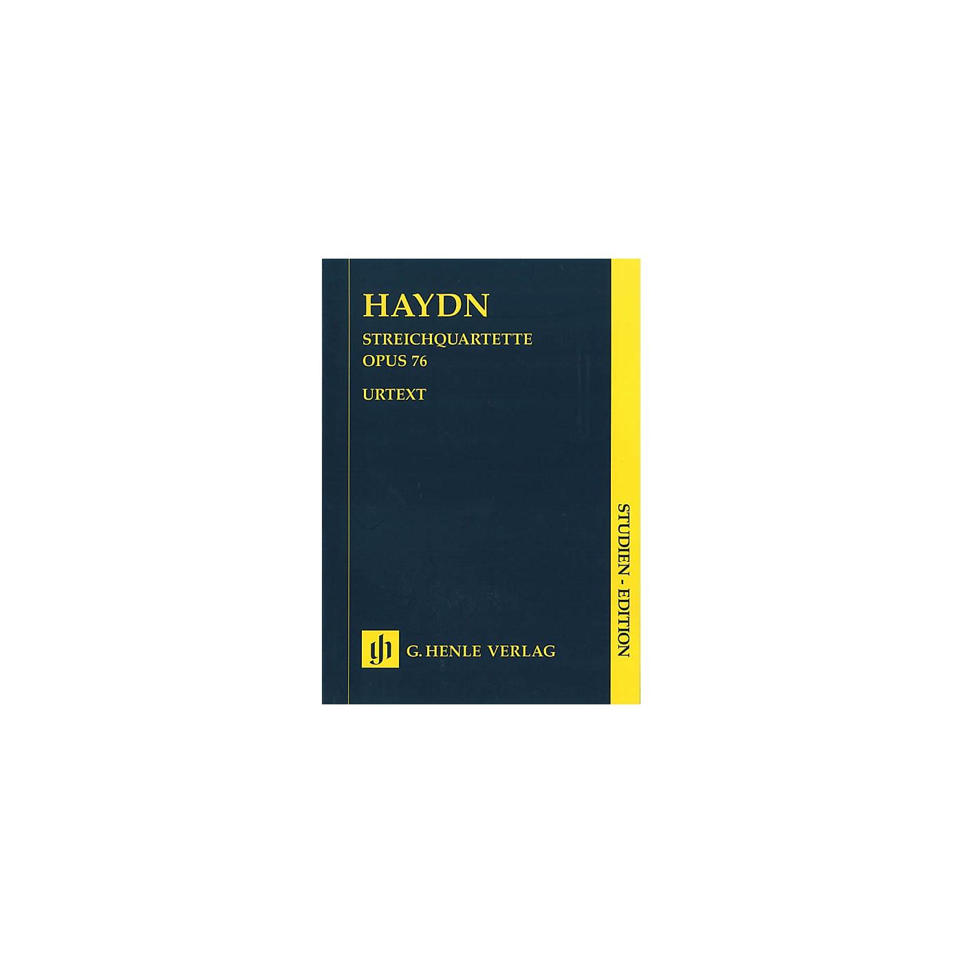 G. Henle Verlag String Quartets - Volume X Op. 76 (Study Score) Henle Study Scores Series Softcover by Joseph Haydn thumbnail