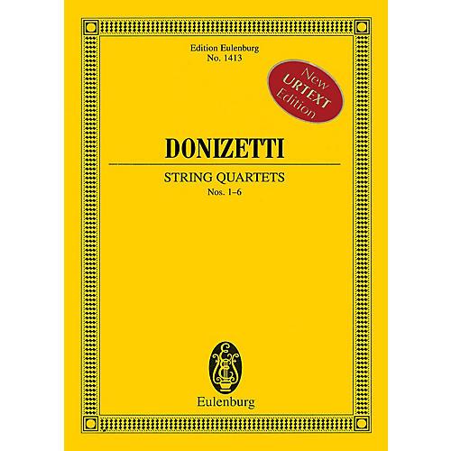 Hal Leonard String Quartets Nos. 1-6 (Study Score) Schott Series Softcover Composed by Gaetano Donizetti thumbnail