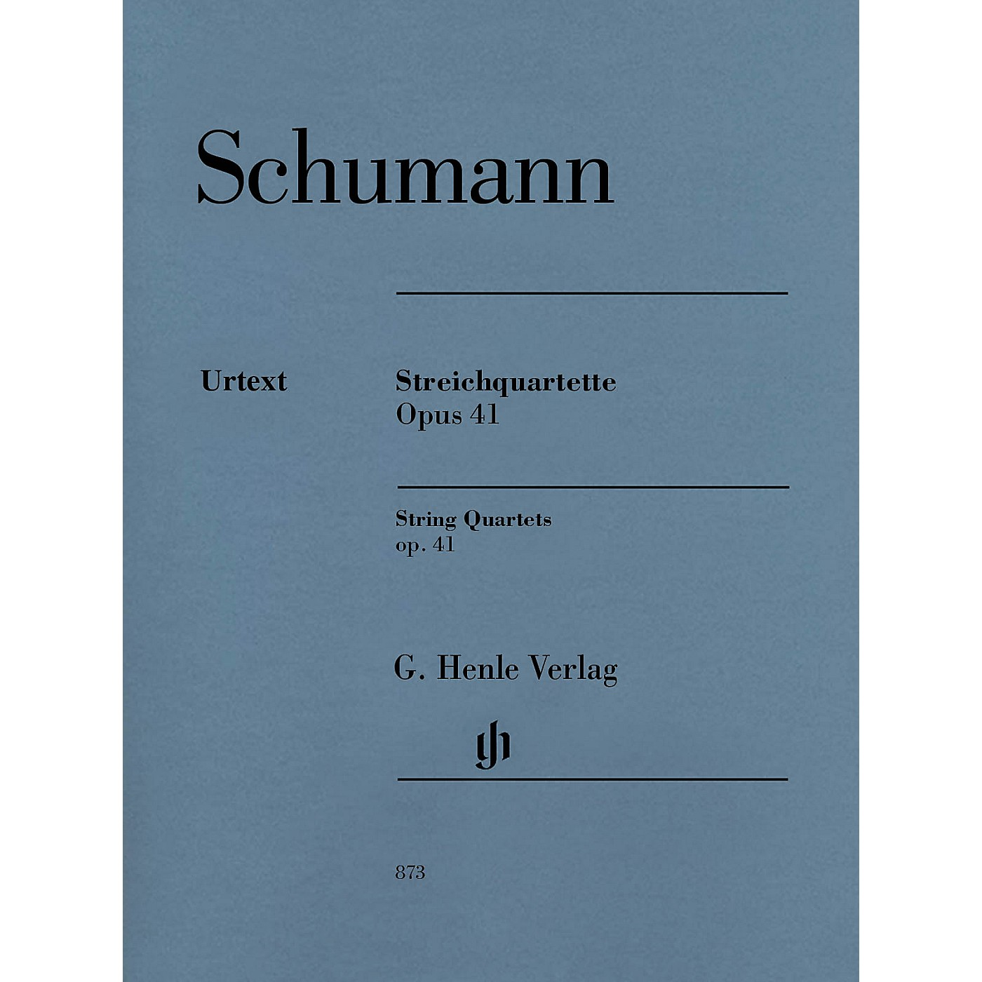 G. Henle Verlag String Quartets Op. 41 Henle Music Folios Series Composed by Robert Schumann thumbnail