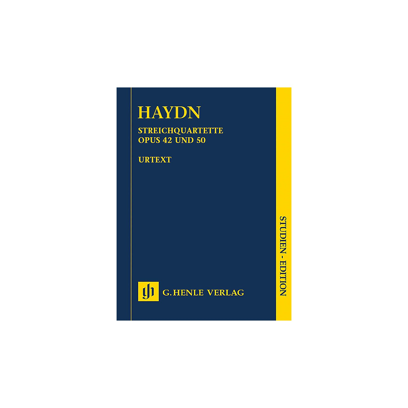 G. Henle Verlag String Quartets, Vol. VI, Op. 42 and Op. 50 (Prussian Quartets) Study Score by Haydn Edited by Webster thumbnail