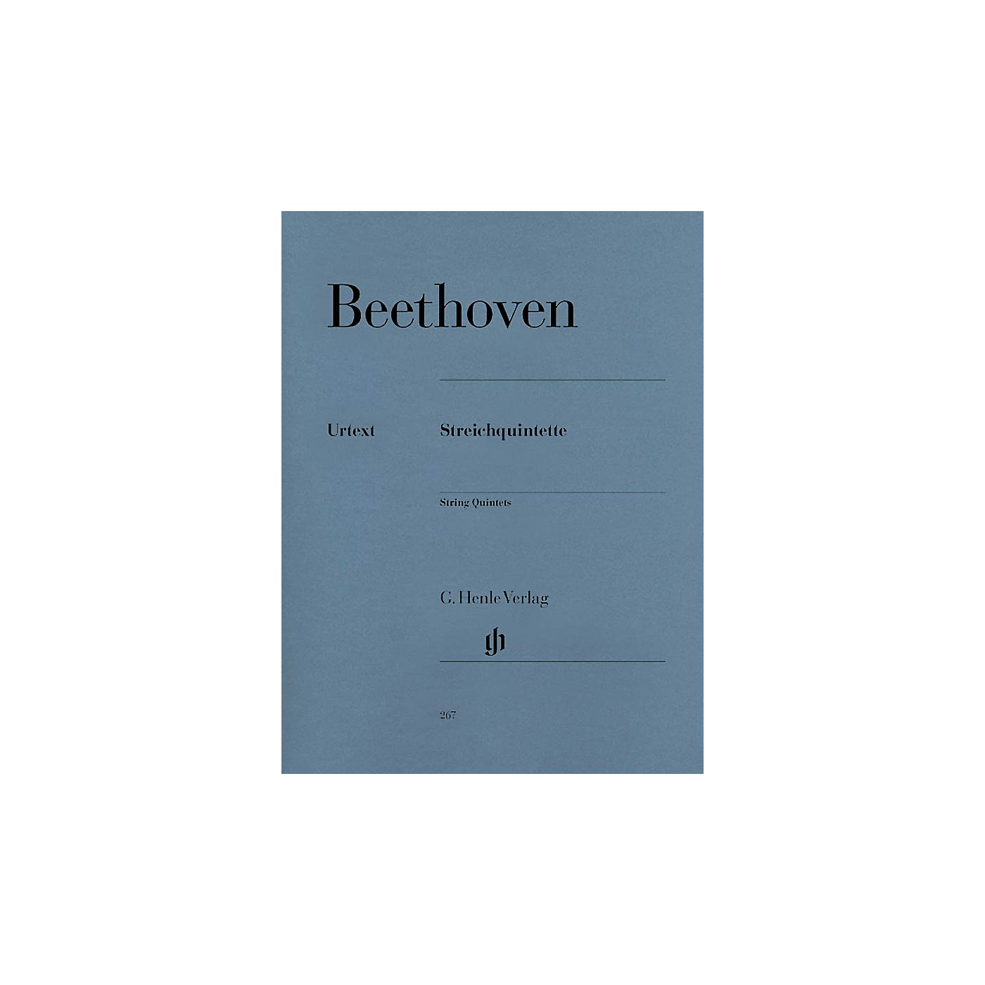 G. Henle Verlag String Quintets Henle Music Folios Series Softcover Composed by Ludwig van Beethoven thumbnail