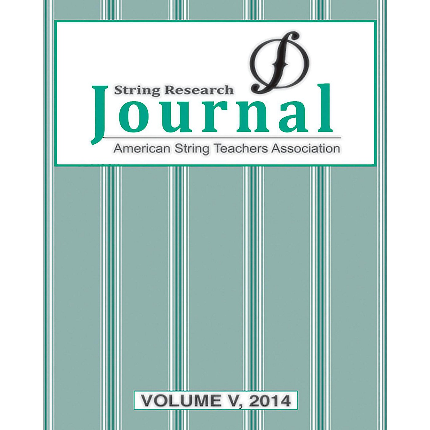 Alfred String Research Journal: Volume V, 2014 Book thumbnail