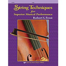 KJOS String Techniques for Superior Musical Performance Cello