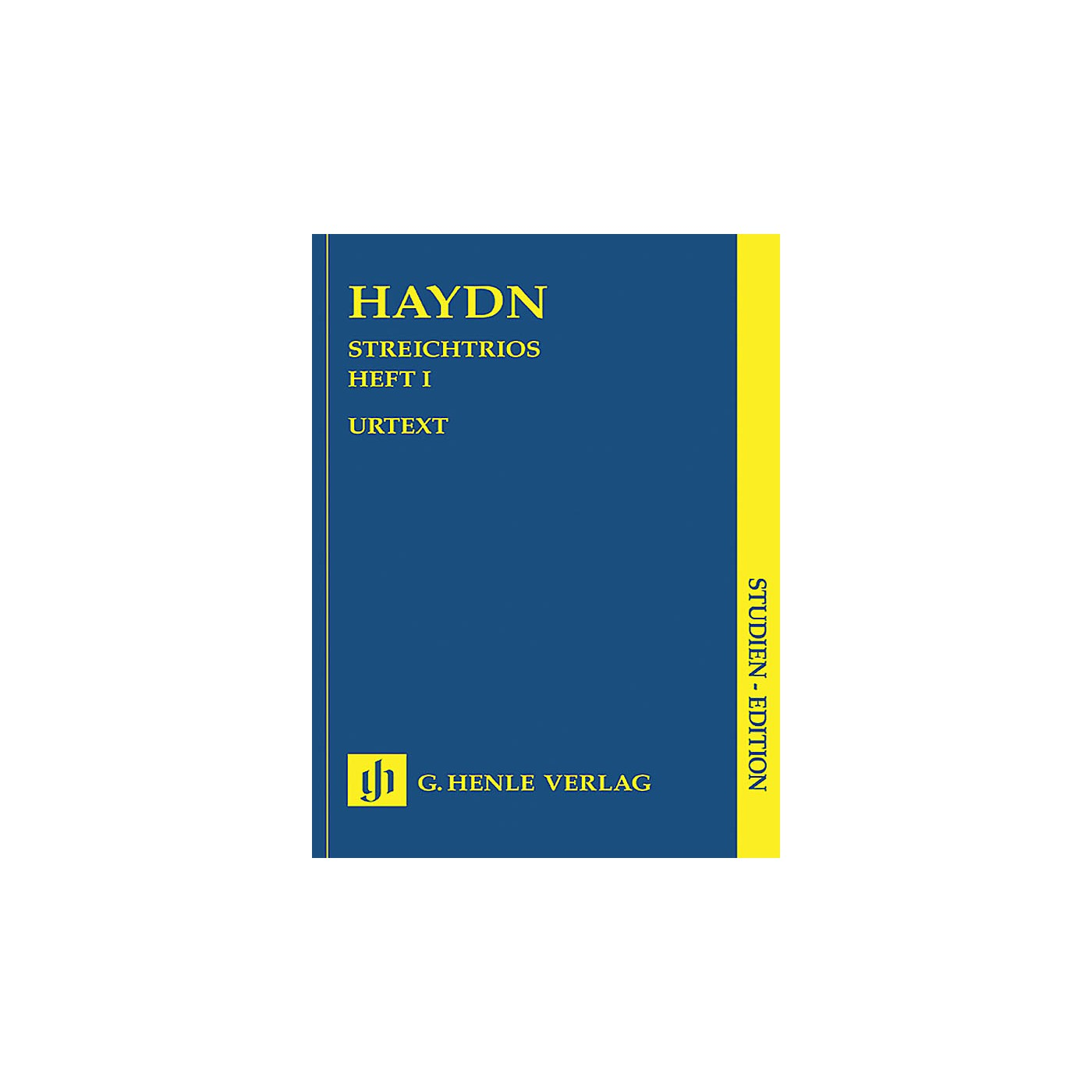 G. Henle Verlag String Trios - Volume 1 (Study Score) Henle Study Scores Series Softcover Composed by Joseph Haydn thumbnail