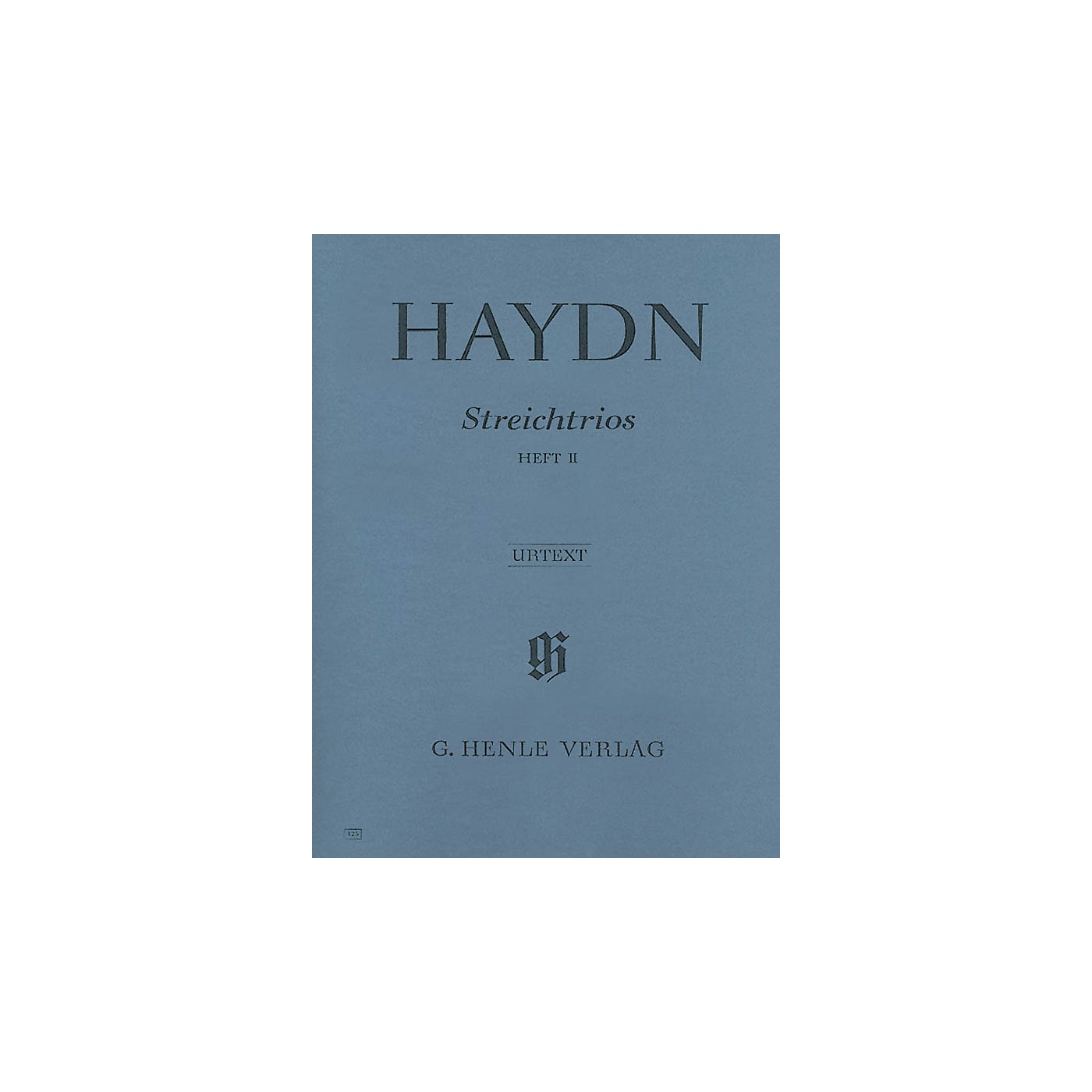 G. Henle Verlag String Trios - Volume 2 Henle Music Folios Series Softcover Composed by Joseph Haydn thumbnail