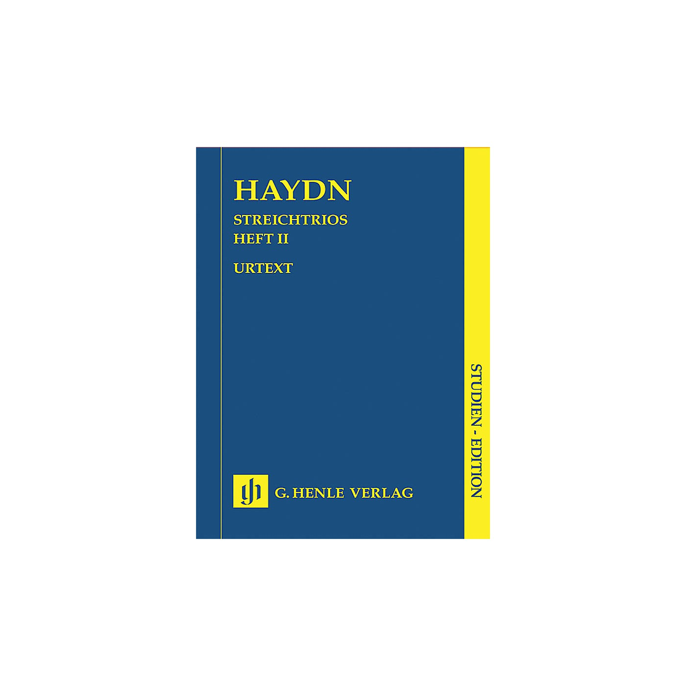 G. Henle Verlag String Trios - Volume 2 (Study Score) Henle Study Scores Series Softcover Composed by Joseph Haydn thumbnail