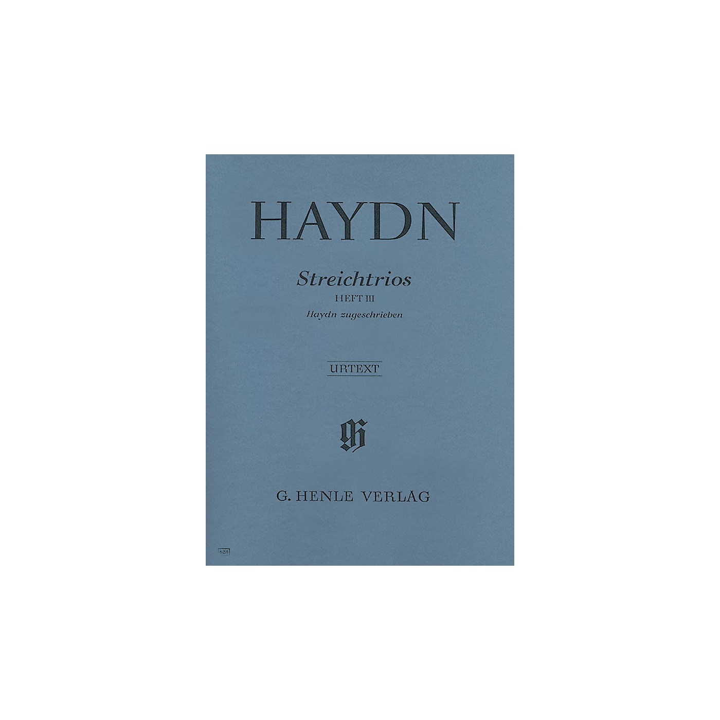 G. Henle Verlag String Trios - Volume 3 Henle Music Folios Series Softcover Composed by Joseph Haydn thumbnail