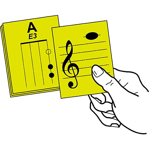 Notes & Strings Stringed Instrument Flashcards-thumbnail