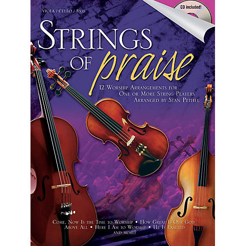 Shawnee Press Strings of Praise Shawnee Press Series Softcover with CD thumbnail