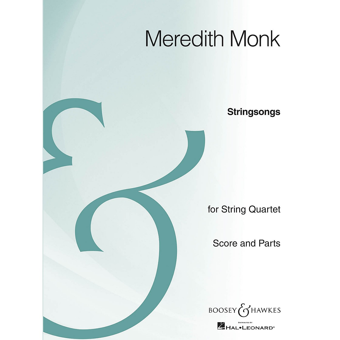 Boosey and Hawkes Stringsongs (String Quartet Archive Edition) Boosey & Hawkes Chamber Music Series by Meredith Monk thumbnail