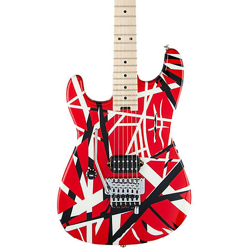 EVH Striped Series Left-Handed Electric Guitar thumbnail
