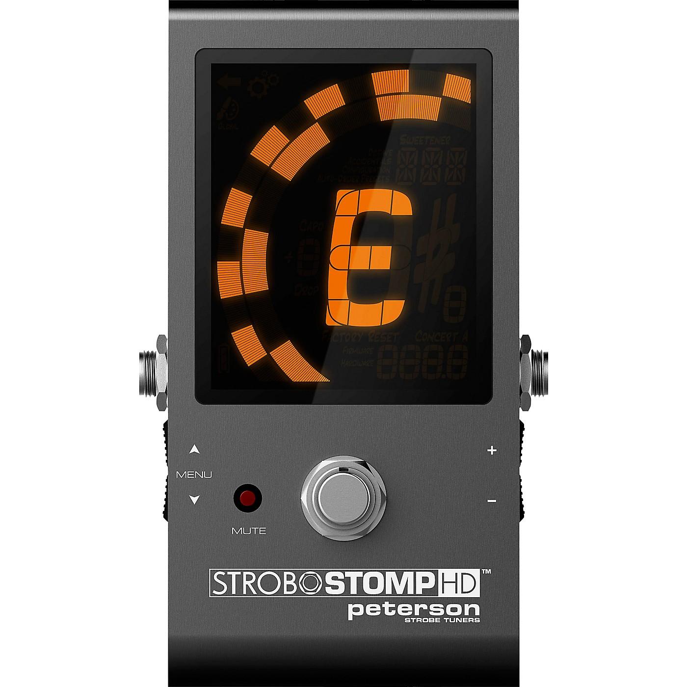 Peterson StroboStomp HD Tuner Pedal thumbnail