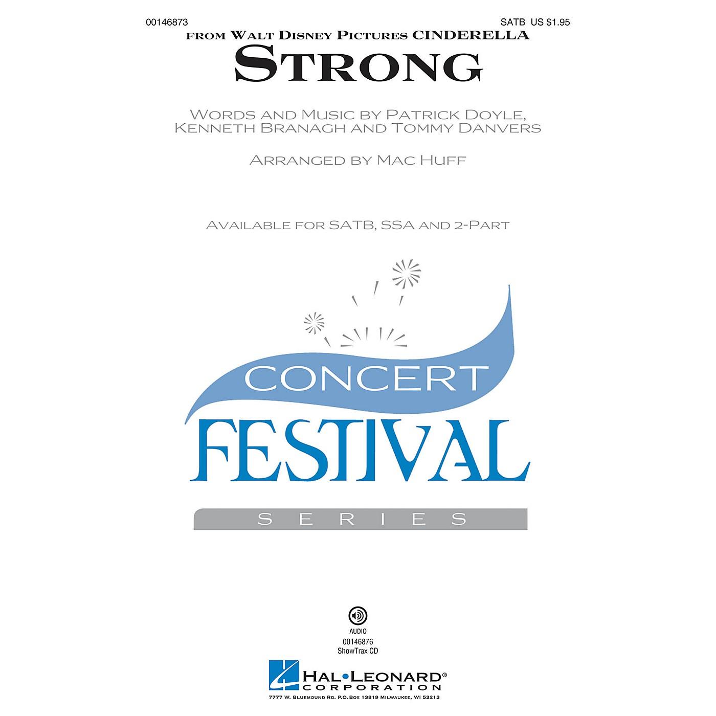 Hal Leonard Strong (from Cinderella) SATB arranged by Mac Huff thumbnail