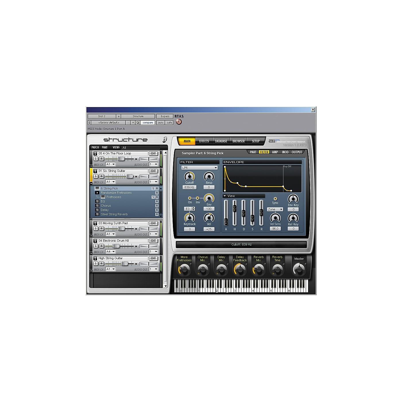 Digidesign Structure LE Sampler Virtual Instrument thumbnail