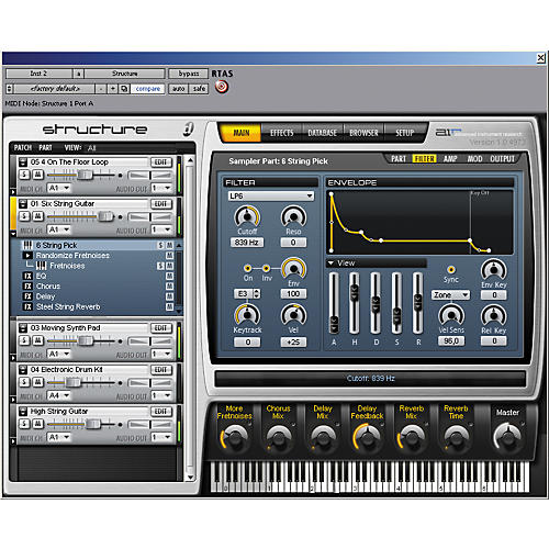 Digidesign Structure LE Sampler Virtual Instrument thumbnail
