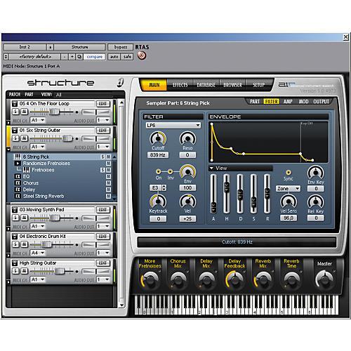 Digidesign Structure LE Sampler Virtual Instrument-thumbnail
