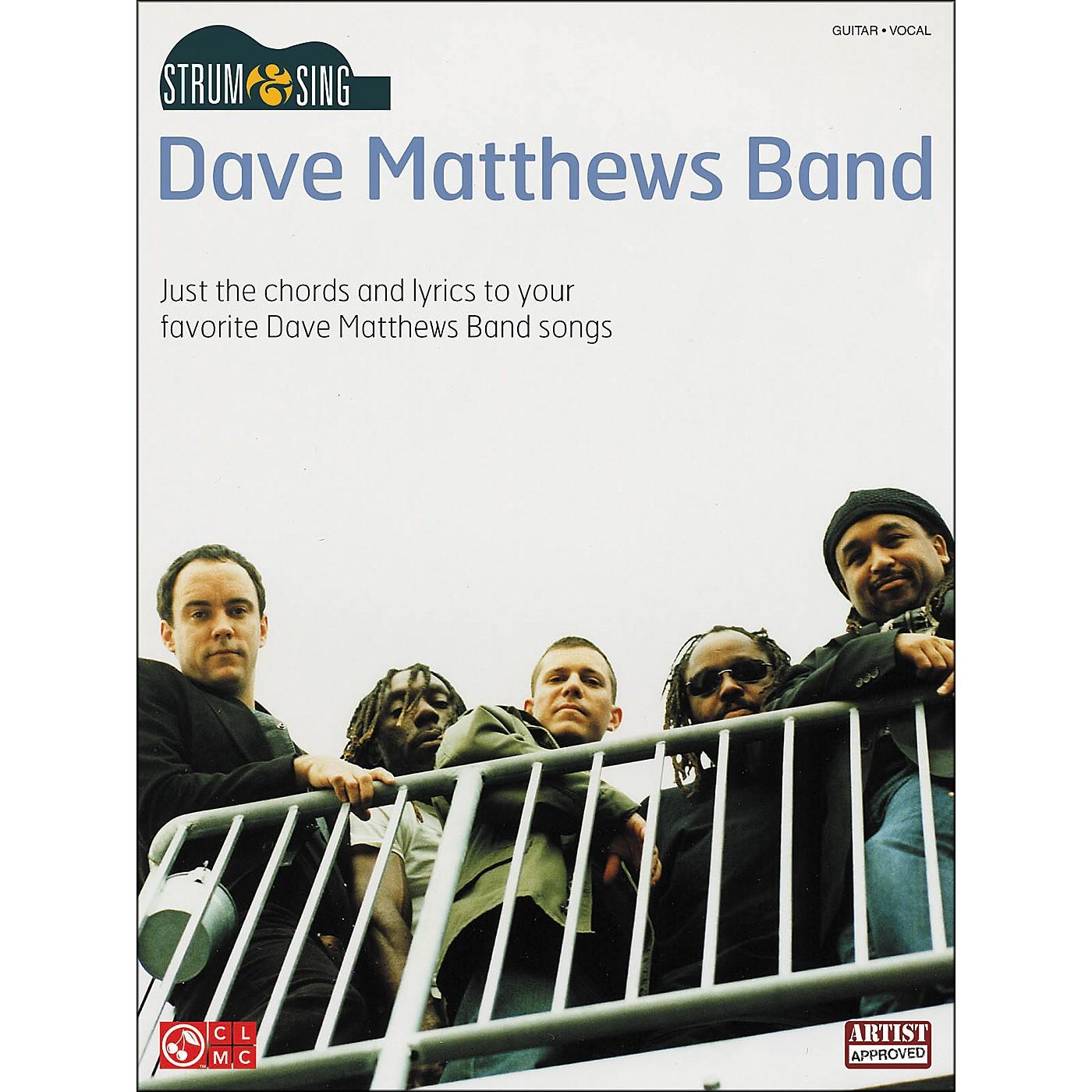 Cherry Lane Strum & Sing Dave Matthews Band Easy Guitar Series Guitar Tab Songbook thumbnail