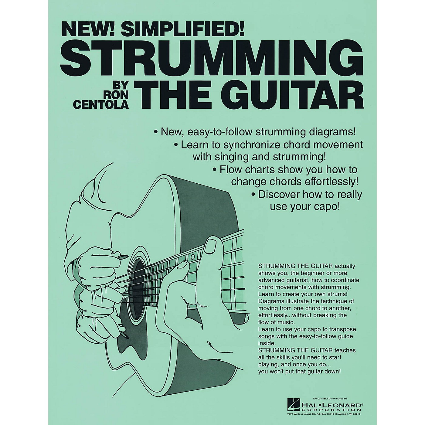 CSI Strumming the Guitar Book Series Softcover Written by Ron Centola thumbnail