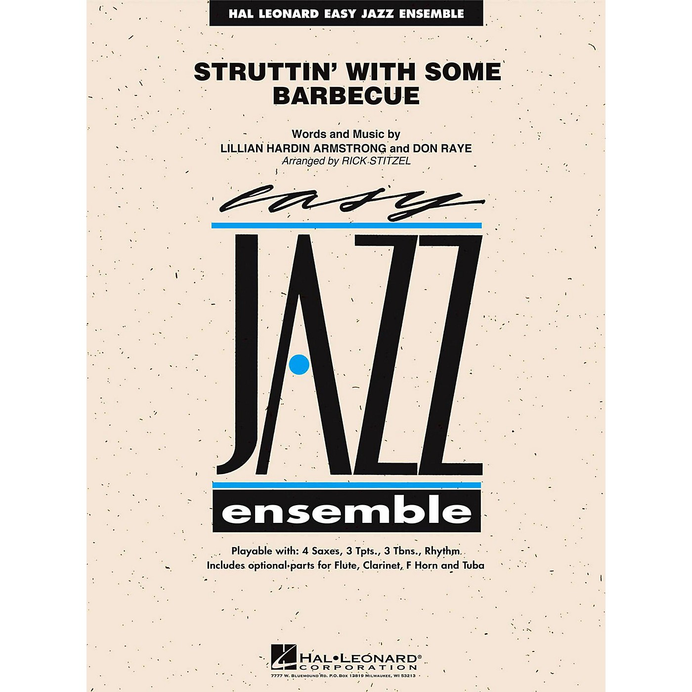 Hal Leonard Struttin' With Some Barbecue Jazz Band Level 2 thumbnail